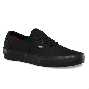 Vans Authentic Pro Ultracush HD All Black Sneakers